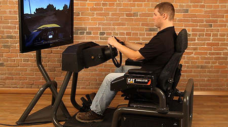 ARTICULATED TRUCK SIMULATOR OVERVIEW