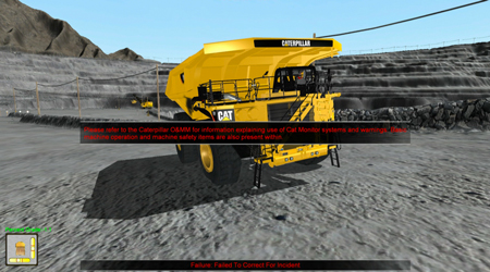 Mining Truck Incident Response