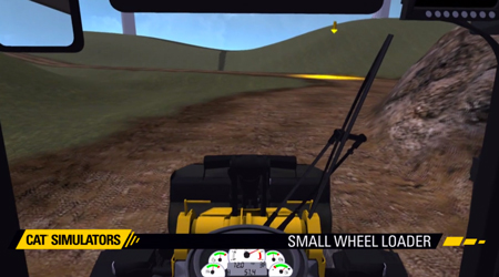 SMALL WHEEL LOADER SIMULATOR OVERVIEW