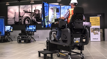 Cat® Simulators Convertible and Mobile Solutions