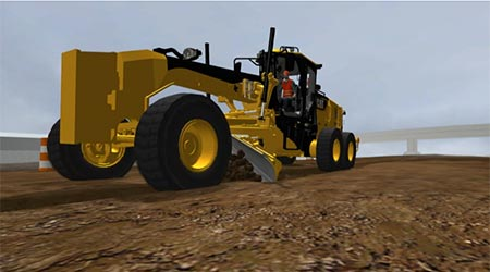 M-SERIES MOTOR GRADER V-DITCHING EXERCISE SAMPLE