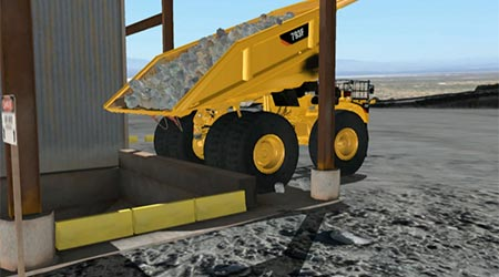 MINING TRUCK UNLOADING EXERCISE SAMPLE