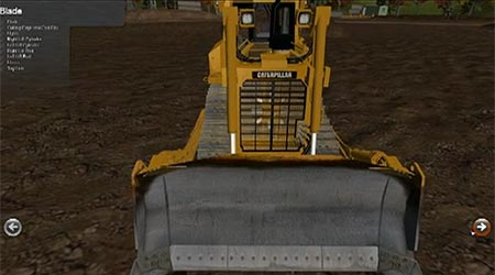 TRACK TYPE TRACTOR SIMULATOR OVERVIEW
