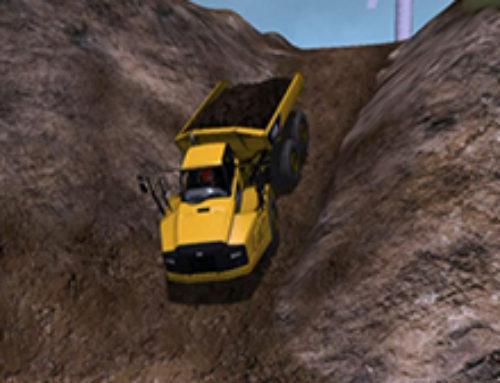 Articulated Truck Braking