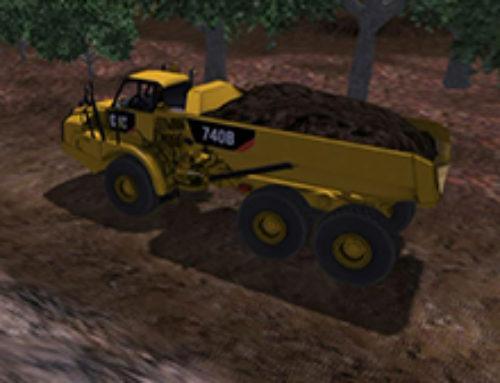 Articulated Truck Hauling