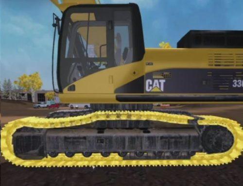 Hydraulic Excavator Machine Walkaround