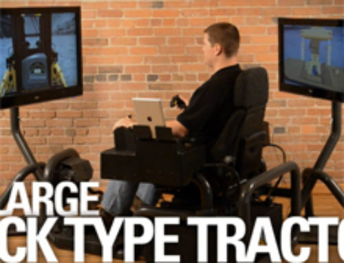 Large Track Type Tractor Simulator Overview