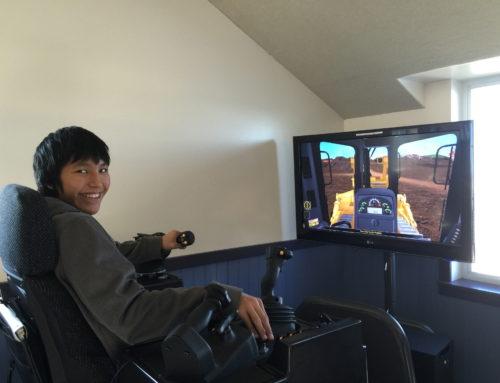 Cat® Simulators Boost Interest in Heavy Equipment Careers in Alaska