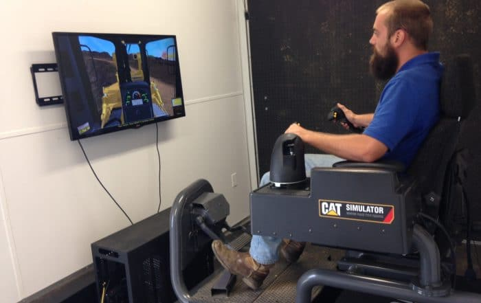 Cat Simulators Train Current Employees and Influence the Future of the Construction Industry