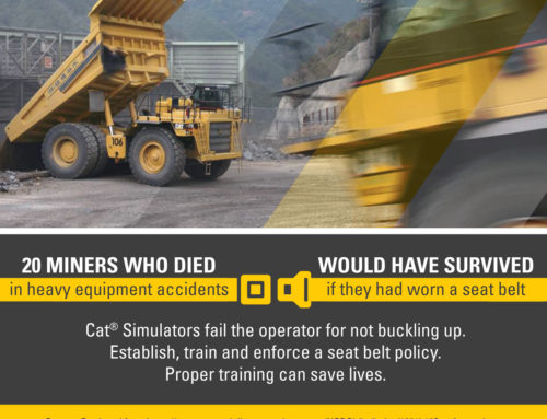 Seat Belts Save Heavy Equipment Operator Lives