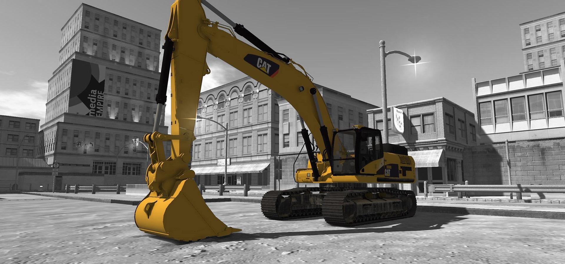 Advanced Construction Excavator – CAT® SIMULATORS