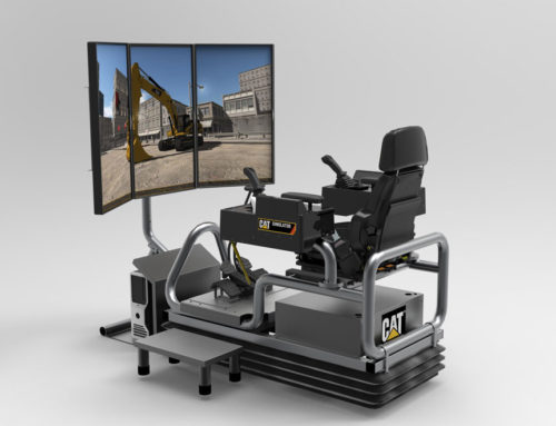 New Cat® Advanced Construction Excavator Simulator System Teaches Operator Skills