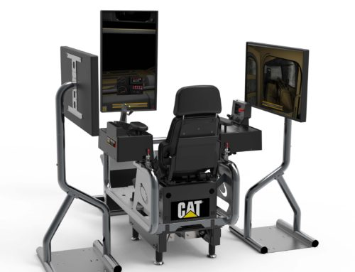 New! Cat® Simulators Underground Load-Haul-Dump System Trains Mine Operators Safely and Efficiently