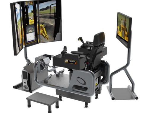 Cat® Simulators Next Generation Advanced Dozer Teaches Highway Construction Techniques