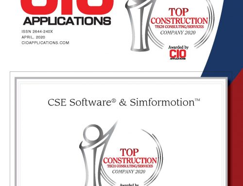 Simformotion™ LLC Named Top Construction Tech Company