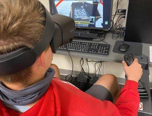 Students Build Heavy Equipment Operating Skills at Hamilton Heights High School