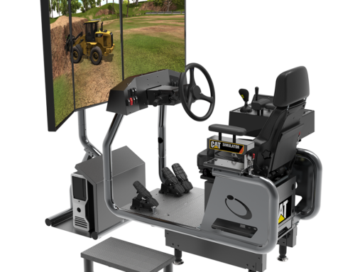 Cat® Simulators New Small Wheel Loader Skill Builder System Offers Training Flexibility