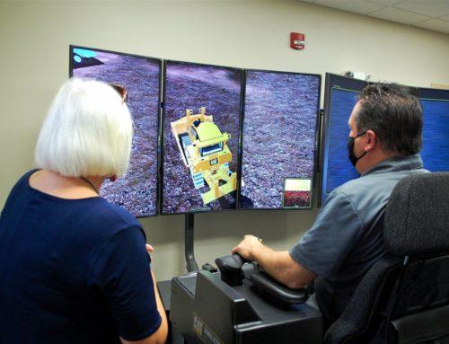 WPCC reveals new heavy equipment simulation lab