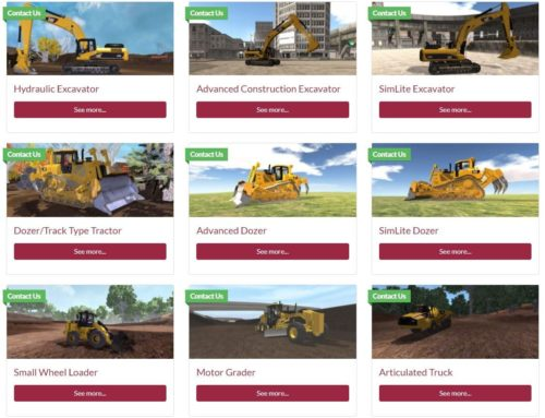 SimScholars Online Curriculums Provide Heavy Equipment Training for Cat® Simulators In or Out of the Classroom